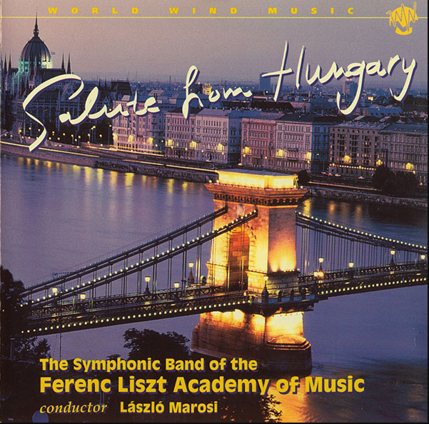 Salute From Hungary CD Cover